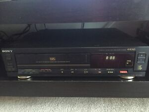 Lecteur VHS Sony video cassette reader recorder