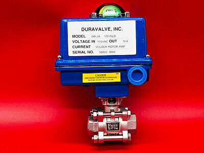 Duravalve Dr-2a Actuator Assembly With Ball Valve 34 Dr2a