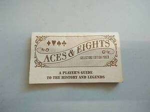 Aces & eights Franklin mint players guide Gulliver Townsville City Preview