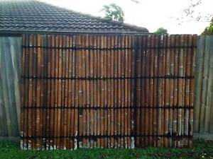 BAMBOO SCREENING FENCE PANEL Rowville Knox Area Preview
