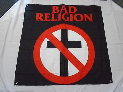 BAD RELIGION TEXTILE FLAG