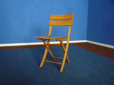 Sehr seltener Herlag Kinderstuhl klappbar Folding Chair 1940s