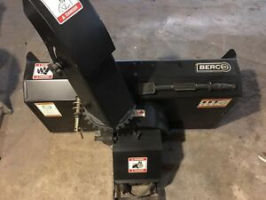 Berco Snowblower Attachment