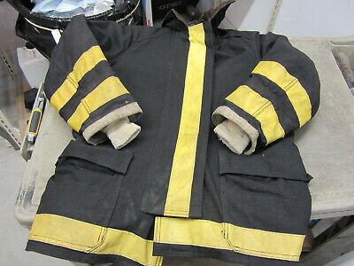 Size 38 32 Globe Fire Fighter Turnout Jacket Vgc Womens