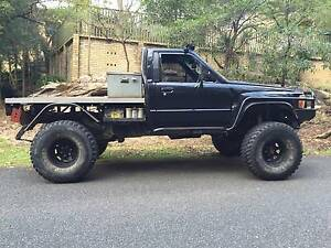 1985 Toyota Hilux Ute 4x4 Epping Ryde Area Preview