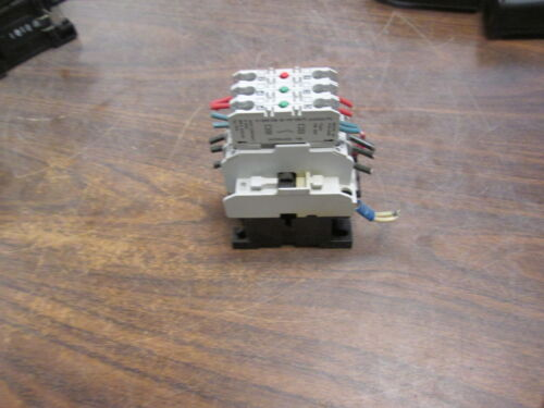 Danfoss Contactor CI 6 120V Coil 16A 600V w/ (3) Aux Contacts Used