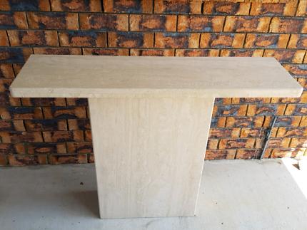 Stone Travertine Console Hall Sofa Table