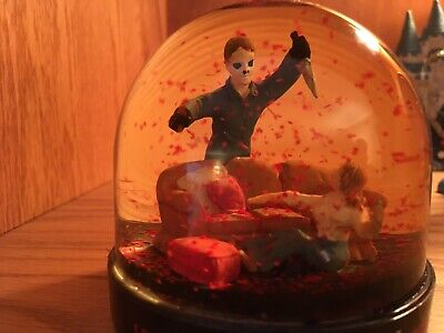 Halloween 20th Anniversary Bloody Snow Globe Michael Myers #17165](Halloween Decorations Michaels)