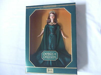 Empress of Emeralds Barbie, First in the Series Royal Jewels Collection, 1999
