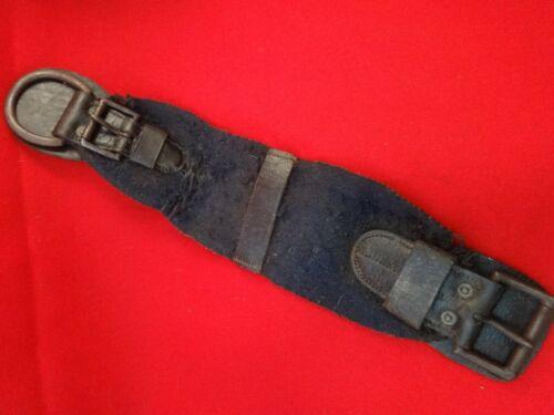 ORIGINAL US FEDERAL CAVALRY CIVIL WAR GIRTH CINCH 1859 McCLELLAN SADDLE DISPLAY