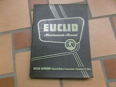 Euclid L-7 1-qpm Front End Wheel Loader Shop Service Repair Manual