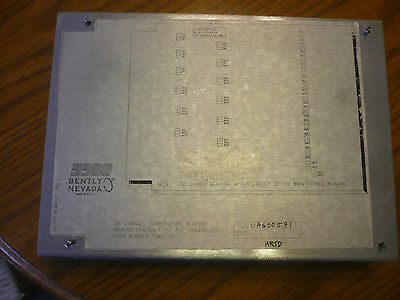Bentley Nevada 81228-01 79492-01 6 Channel Temperature Monitor Plc Pcb