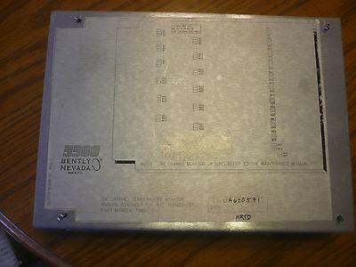 Bentley Nevada 81228-01 79492-01 6 Channel Temperature Monitor Plc Pcb