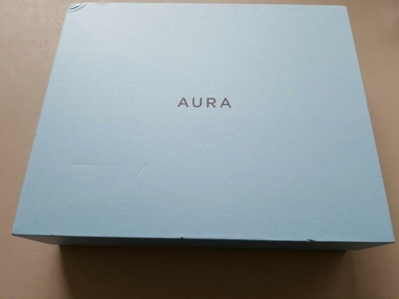 "Aura Sawyer 9.7"" LCD Digital Picture Photo Frame Wi-Fi - Mica - Open Box"