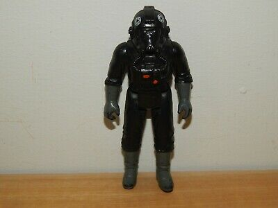 "STAR WARS VINTAGE TIE FIGHTER PILOT 3.75"" ACTION FIGURE #A"