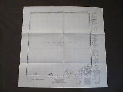 Landkarte Meßtischblatt 1092 Rinderort, Kurisches Haff, Ostpreußen, Labiau, 1938