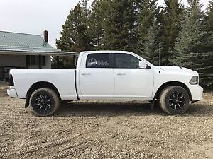 Lifted 2015 Dodge Ram 1500 Fully Loaded Sport