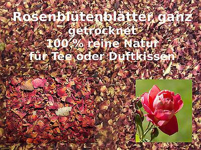 Rosenblütenblätter getrocknet rot 500 Gramm Gewürze / Räucherung