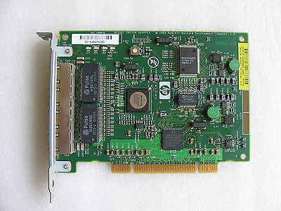 HP NC150T 4x Gigabit Combo Switch Adapter PCI