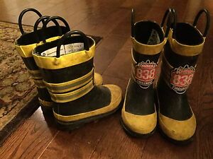 Twin - Toddler Rain Boots and Water-proof Jackets