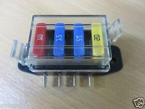 4-x-Alloggiamento-fusibil-Scatola-fusibili-Box-sicurezza-Radio-amatoriale
