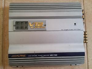 Alpine V12  MRV-F305 amplifier Kenwick Gosnells Area Preview