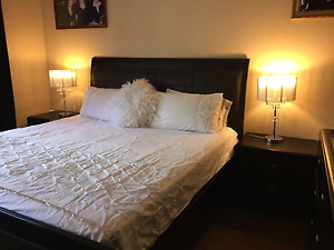4 Piece King Bedroom Suite with King Mattress included Bankstown Bankstown Area Preview