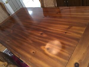 Pine dining set Campbell River Comox Valley Area image 3