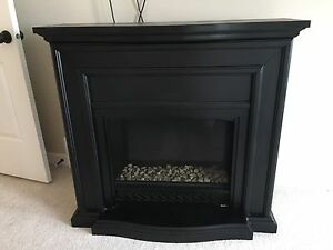 Faux fireplace $65