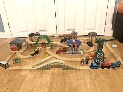 Thomas The Train Wooden DELUXE SODOR LIGHTS & SOUNDS SET CRANKY BRIDGE 2012