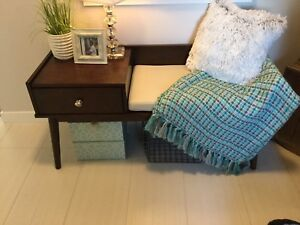 Entryway bench for sale