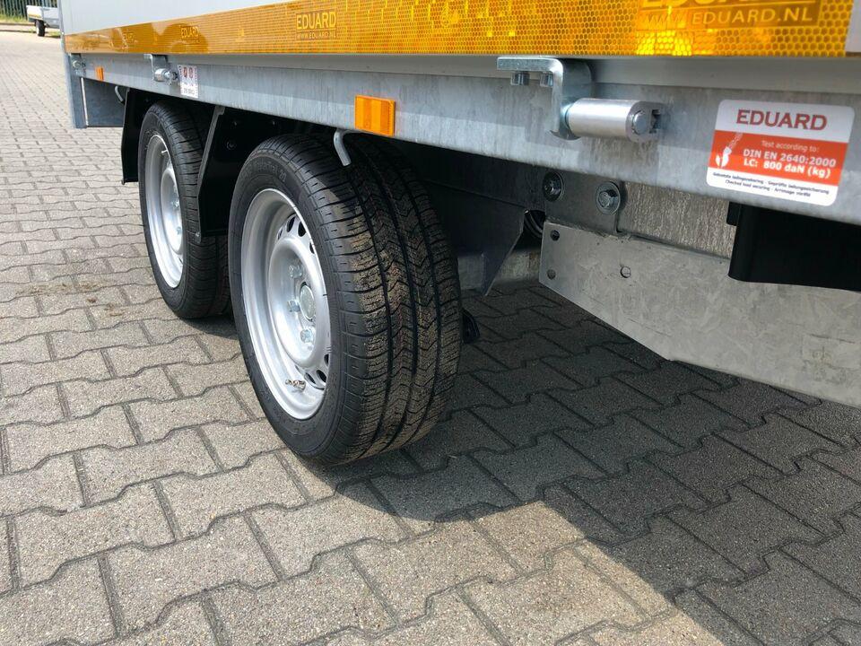 ⭐️ Eduard Anhänger Pritsche 2000 kg 256x150x30cm Alu Profi NEU 63 in Schöneiche bei Berlin