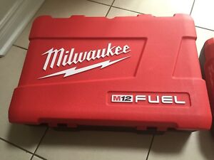 Milwaukee M12 Fuel cases