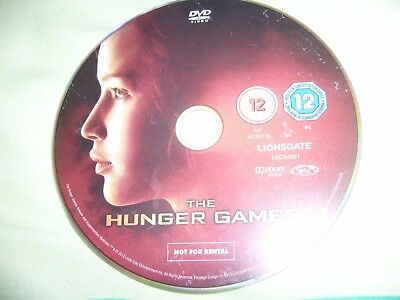 The Hunger Games (Jennifer Lawrence) - Disc Only for sale  Shipping to Nigeria