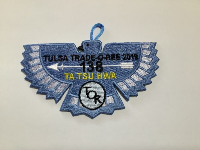 OA Lodge 138 Ta Tsu Hwa 2019 Tulsa Trade-o-ree flap