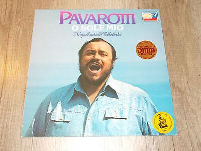 O Sole Mio - Luciano Pavarotti - Neapolitanische Volkslieder- LP - Vinyl - Decca