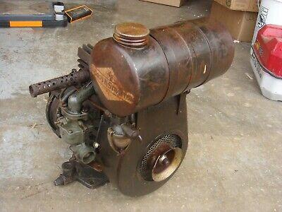 Rare Vintage Briggs Stratton Gear Reduction Engine Gas Motor Model 8 N Bs