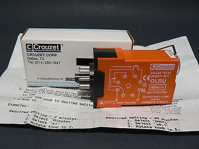Crouzet Syrelec Olru 48v Acdc Multifunction Timer Free Us Shipping