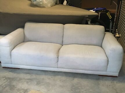 Plush - 2 and 3 seat lounge with ottoman