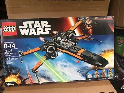 LEGO Star Wars Poe's X-Wing Fighter 75102 The Force Awakens New Factory Sealed