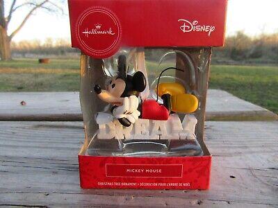 Hallmark Disney Mickey Mouse Dream 2020 Christmas Ornament Decoration