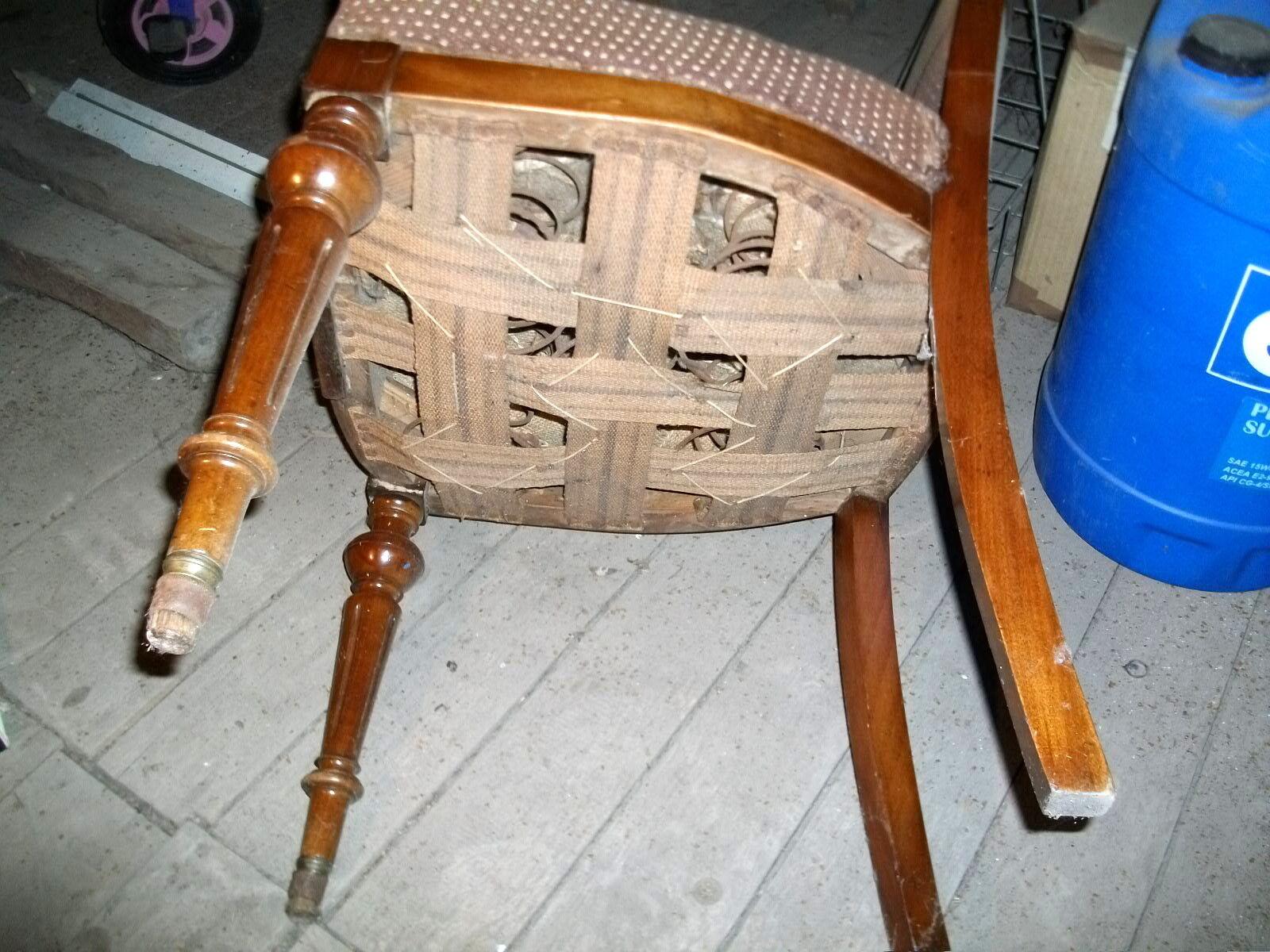 original 2 gleiche antike ausgefallene st hle stuhl. Black Bedroom Furniture Sets. Home Design Ideas