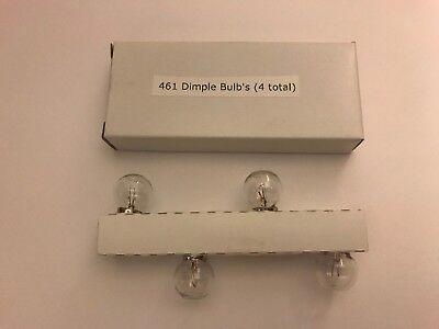 461 Dimple Bulb's (4 Pack) for Lionel 394 Beacon Top & Marx Beacon Top  comprar usado  Enviando para Brazil