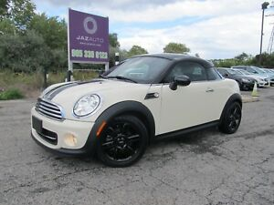 2013 MINI COOPER 2DR COUPE SPORTS AUTOMATIC CLEAN CAR PROOF LOW