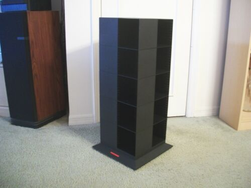 Laserline 200 CD Storage Tower Rack Carousel Rotating Spinning Exc Cond