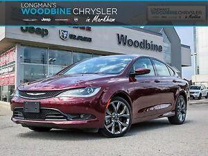 2016 Chrysler 200 S/Leather/Navigation