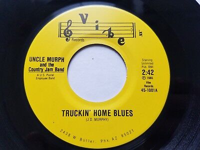 UNCLE MURPH and the COUNTRY JAM BAND - Truckin' Home Blues PRIVATE 1986 Arizona