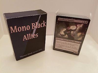 MTG Standard  & Theme Decks - Mono Black Vampire Allies Magic the Gathering