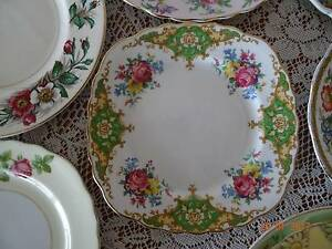 Vintage B&B Side Plates - 8 x Assorted Designs & Makers Chermside West Brisbane North East Preview