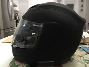 ICON Ladies Motorcycle Helmet for sale